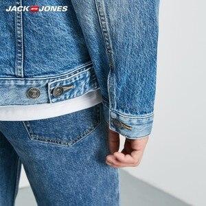 Image 5 - جاكيت دنيم ضيق مناسب للخريف للرجال من JackJones معطف أنيق ملابس خارجية للرجال 219157511