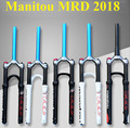 Manitou PRO MRD Fiets Vork 26 27.5 Mountain MTB Bike Vork Air Verende Voorvork Aansteker om Marvel COMP Machete m30 2018