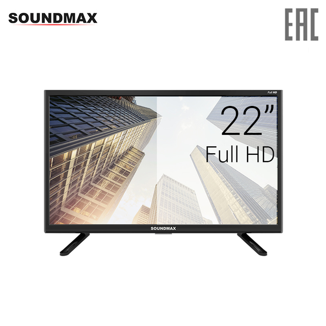 "Телевизор 22"" Soundmax SM-LED22M06 FullHD"