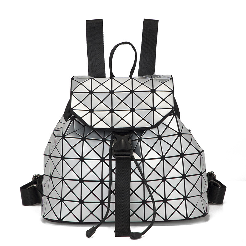 Holographic Backpack with sparkles Women Backpack Feminine Geometric Plaid Sequin Female Backpacks For Teenage Girls BagHolographic Backpack with sparkles Women Backpack Feminine Geometric Plaid Sequin Female Backpacks For Teenage Girls Bag