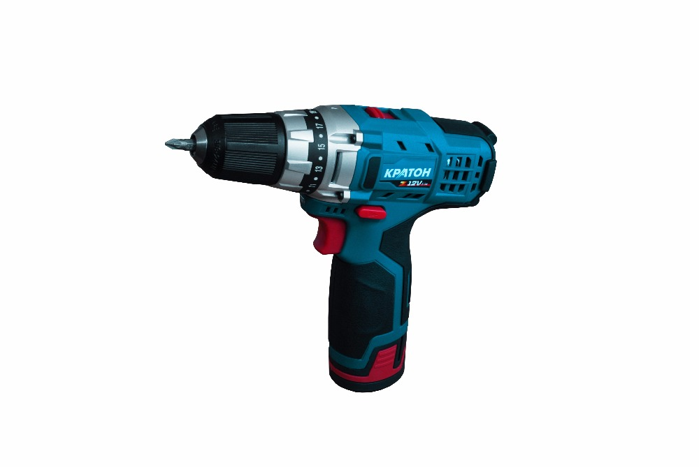 Drill-screwdriver rechargeable KRATON CDL-12-Z drill screwdriver rechargeable kraton cdl 10 1 h