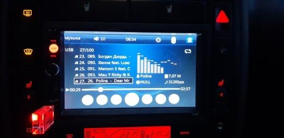 рамка Дин ; рамка Дин ; 2 порта USB; автомобильный радиоприемник;