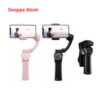 40usd coupon Snoppa Atom 3 Axis Foldable Pocket Sized Handheld Gimbal Stabilizer for iPhone Smartphone GoPro & Wireless Charging