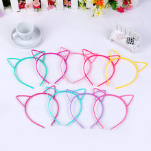 18pcs Baby Party Props Sexy Cat Ears Girl Headwear Lady Stylish Headband Hair Hoop Accessories For Women Hairband Kids Head Band(China)