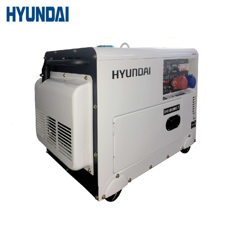 Diesel generator Hyundai DHY8500SE-T Power home appliances Backup source during power outages Diesel power stations genset generator diesel engine parts 12v 24v actuator 3044190