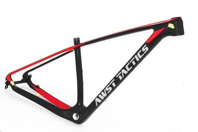 Super Light Carbon Mountain Bike 29er Frame MTB 27.5 er Carbon Frame 142/135mm Carbon mountain Bike