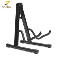 SENRHY Folding Guitar Floor Stand Holder A Frame Universal Fits Acoustic Electric Bass Solid And Secure