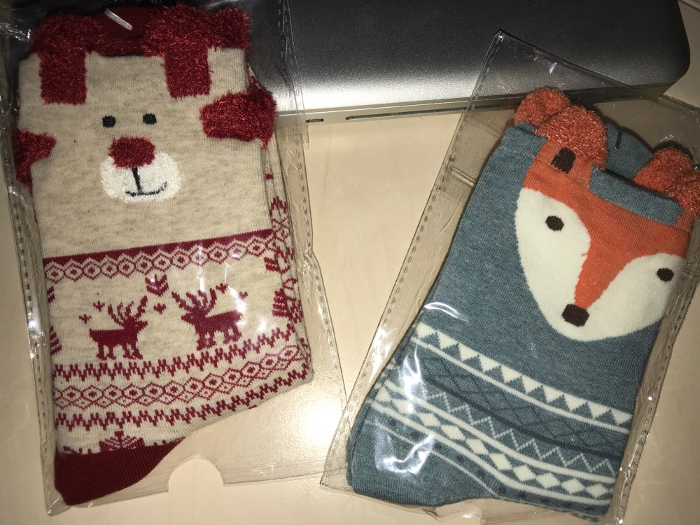 new 2018 women sock winter warm christmas gifts stereo - 1000×750
