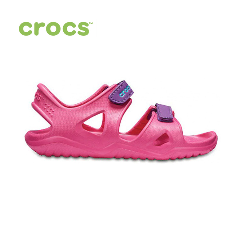 цена CROCS Swiftwater River Sandal K KIDS or boys/for girls, children, kids TmallFS shoes онлайн в 2017 году