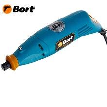 Гравер электрический Bort BCT-170N (Мощность 170 Вт, регулировка скорости 8000-32000 об/мин, регулировка скорости, кейс в комплекте)