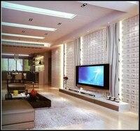 高品質レザー音響パネルテレビルームktv寝室リビングルームミーティングルームのソファの背景壁12ピース40*40セン
