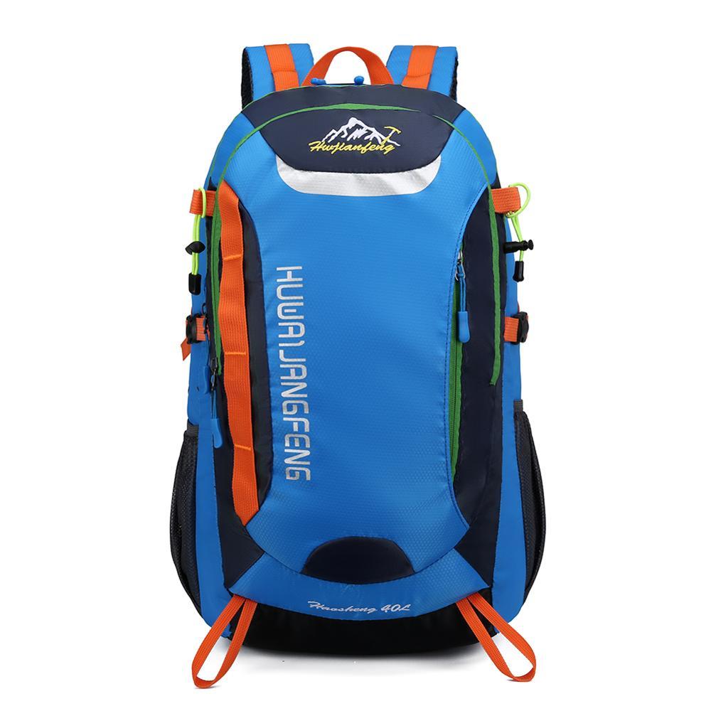Outdoor Travel Bag Waterproof Backpack Large Capacity Wear Resistant Hiking Bags Foldable Travel Rucksack Bolsas Mochila Feminin