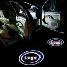 Universal For Volkswagen LED Car door welcome light courtesy led laser projector Logo Ghost Shadow Light Most