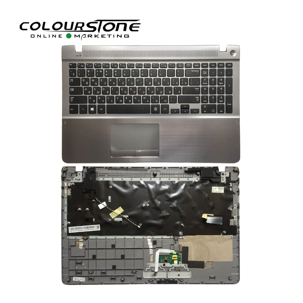 For Samsung 370R5E 450R5V NP370R5E NP370R5V NP510R5E NP450R5E NP450R5V russia black with palmrest cover shell c laptop keyboard цена