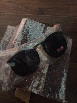 a860c087370 Round Fashion Glasses Oversized Sunglasses Women Brand Designer ...