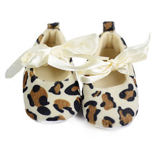 Lovely Baby Girl Toddler Leopard Soft Sole Walking Shoes Sneaker Newborn To 12 Months(China)