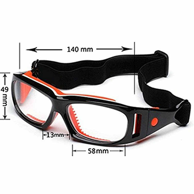 4a1519d23221 Sports eye safety protection glasses basketball soccer optical eyeglasses  eye glasses spectacle frame eyewear can myopia