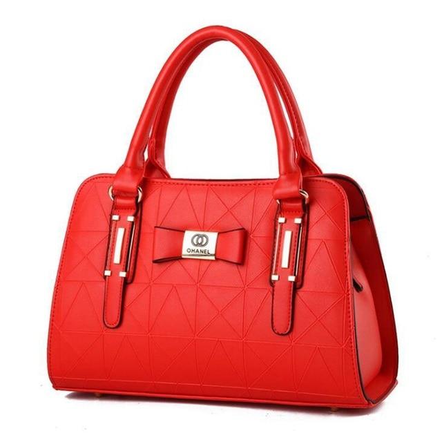 Women Handbag PU Leather Shoulder Bags Lady Large Capacity Crossbody Office Hand Bag 4
