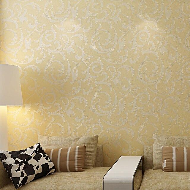 1 Roll Victorian Damask Embossed Textured Wallpaper Home Mural Art ...
