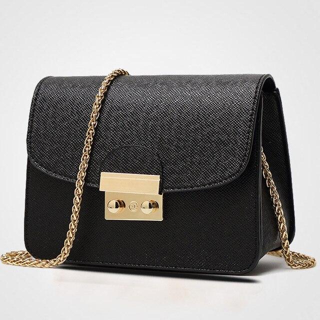 2017 New British Female Handbag Designers Bag Korean Version Small Las Shoulder Messenger Chain Bags