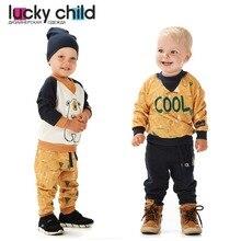 Толстовка Lucky Child с начёсом для мальчиков, арт. 63-16f, 1 шт (Зимние каникулы) [сделано в России, доставка от 2-х дней]