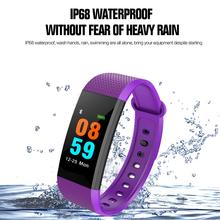 I9 Fitness Tracker OLED Bluetooth Smart Bracelet Sports Watch Heart Rate/Blood Pressure Monitor IP68 Waterproof Pedometer