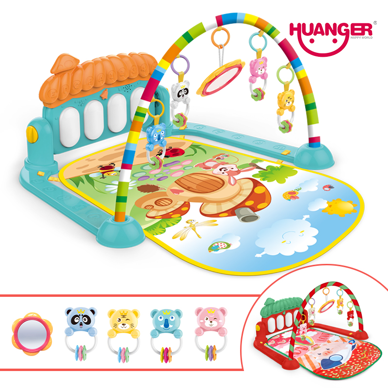 UTB86mbOK9nEXKJk43Ubq6zLppXaW Dropship baby mat carpet musical activity gym puzzle children's tapete infantile Soft pad floor game creeping developmental toy