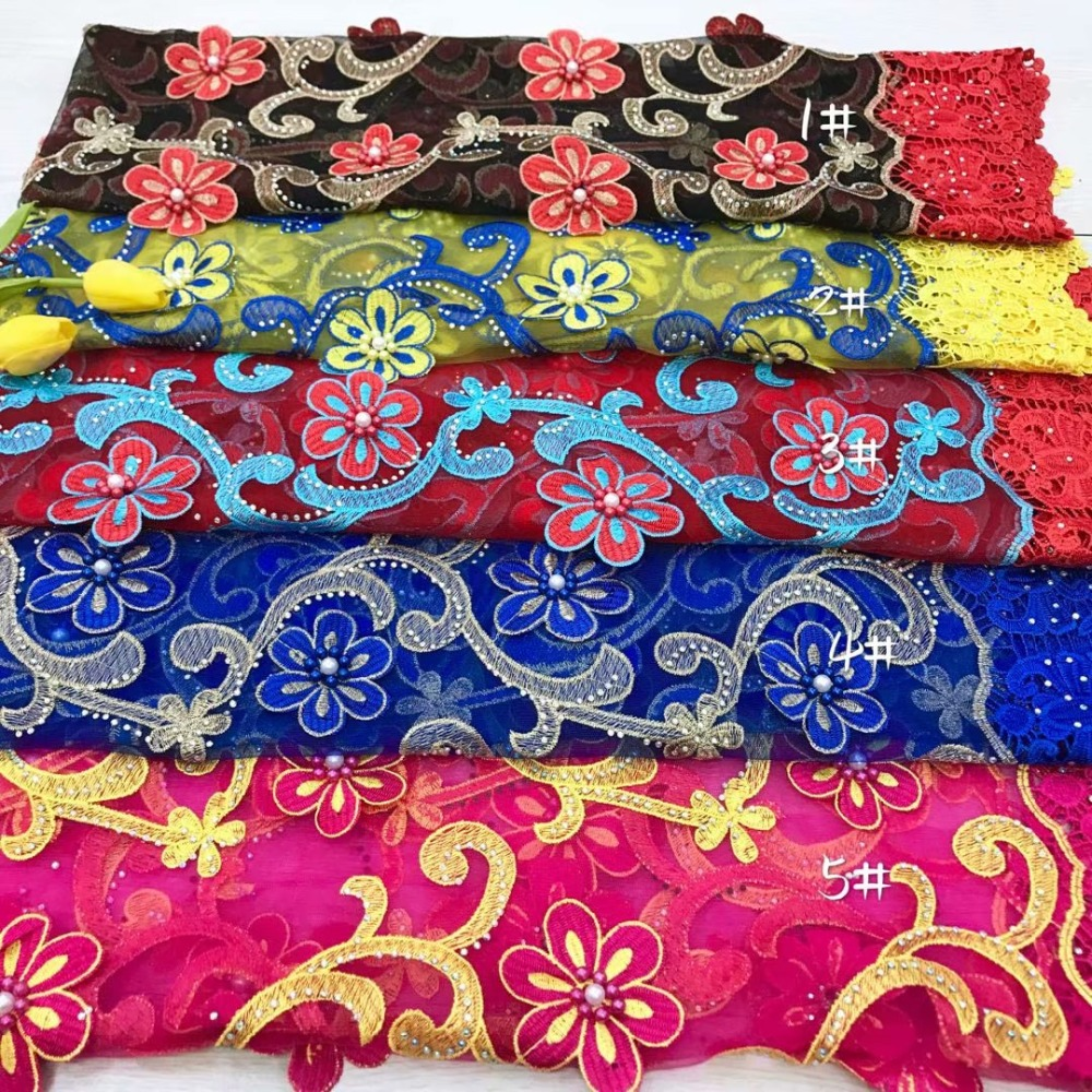 Africa New Designs Full Stones And Beads 3D Flowers French Lace Fabric High Quality Lace Materials For Wedding or PartyAfrica New Designs Full Stones And Beads 3D Flowers French Lace Fabric High Quality Lace Materials For Wedding or Party