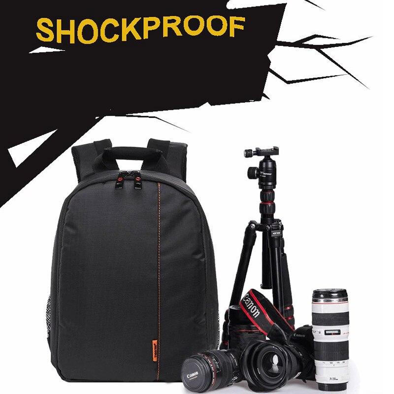 ASOMETECH DSLR Camera Bag Backpack Digital Gear Bags Waterproof Shockproof Breathable Wear For Nikon D3200 D3100 D5200 D7100