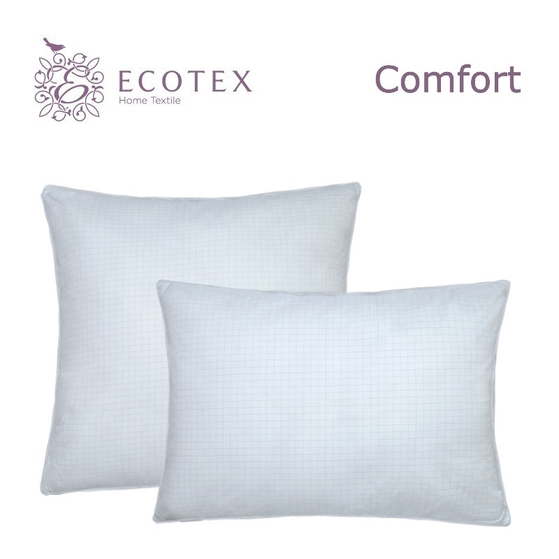 Pillow Antistress collection Comfort. Production company Ecotex(Russia). pillow fiber collection comfort production company ecotex russia