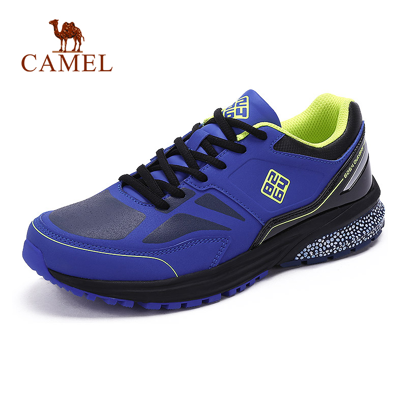 CAMEL 8264 Men Hiking Shoes Breathable Outdoor Walking Jogging Shoes Comfortable Hiking Trekking Sneakers