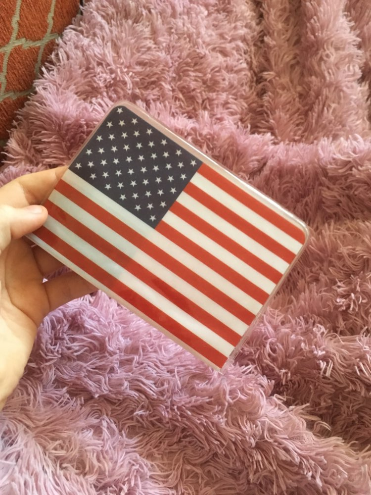2019 NEW National Flag Passport Holder PVC/PU Leather Passport Cover Travel ID Card Case photo review