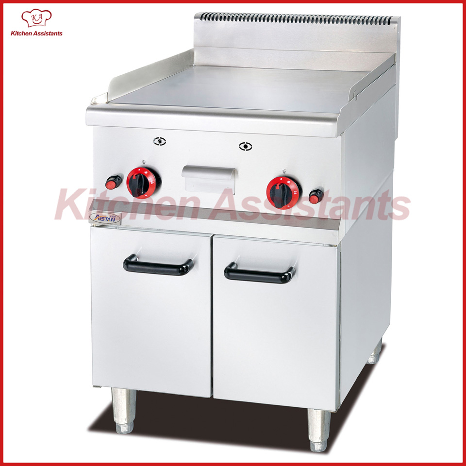 GH586TD Free standing gas counter top griddle machine of bbq machine