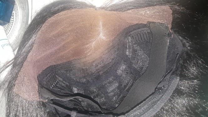 Свобода синтетические парики с ребенком волос для черный Для женщин 26 дюймов жаропрочных волокна Длинные Ombre коричневый Яки Прямо Синтетические волосы на кружеве парик