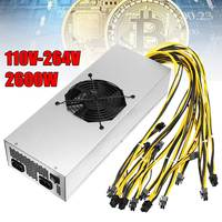 100 264V 2600w New For Mining Switching Power Supply 92 High Efficiency For M3 L3 D3