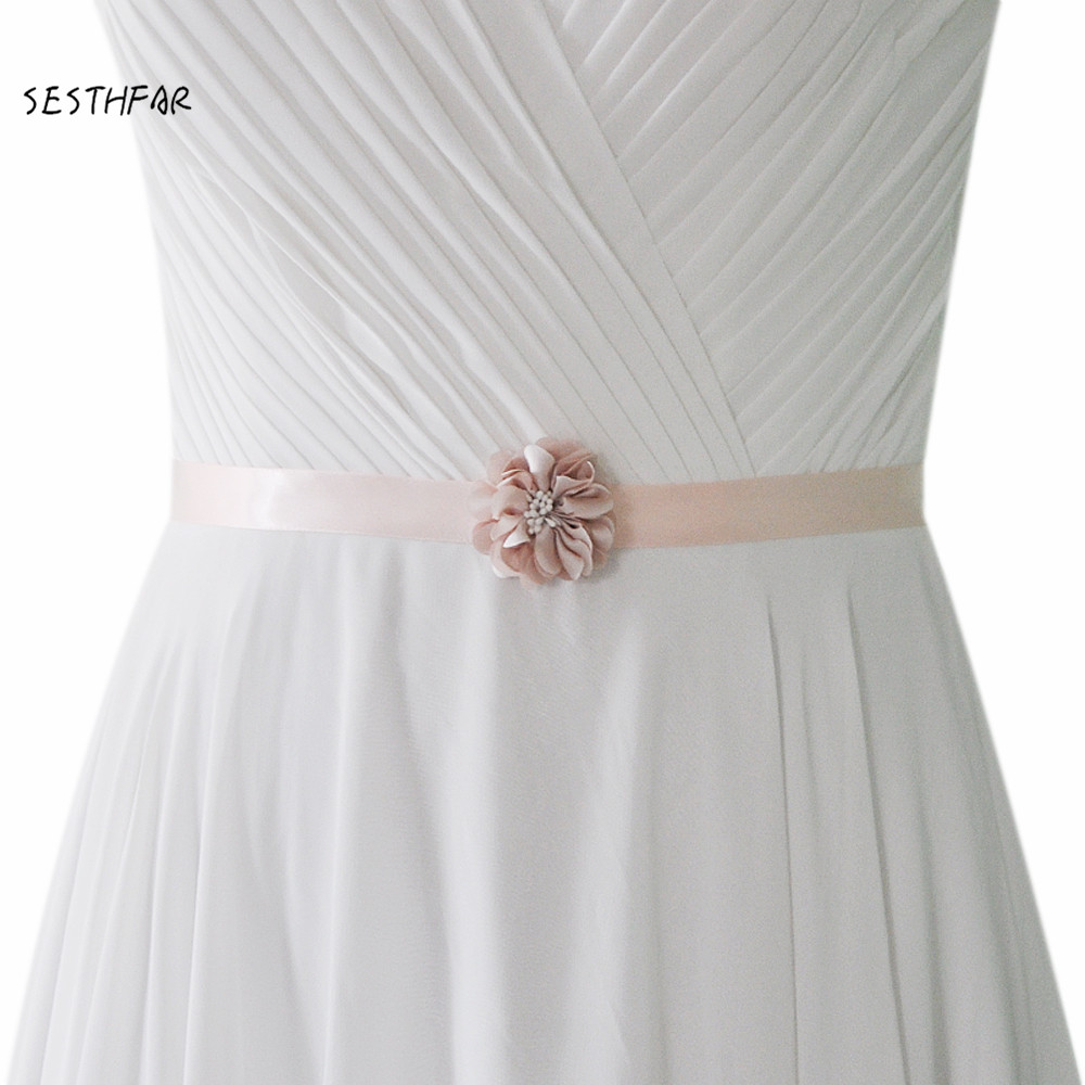 Flower Belts For Wedding Dresses: S343 Flower Evening Party Prom Dresses Accessories Wedding