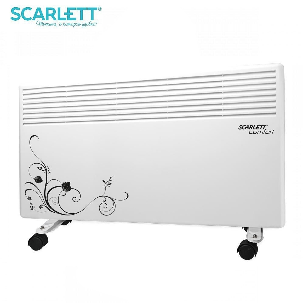 Convector Scarlett SC-CH833-1500 Convector Wall Heater for home Heating home Heaters warmers mini Household appliances for home beibehang papel de parede 3d vintage mediterranean wooden board stripe wallpaper for wall covering wall papers home decor roll