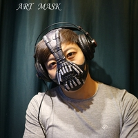 Bane Masks Batman Movie Cosplay Props The Dark Knight Latex Mask For Halloween