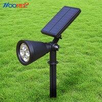HOOREE Solar Light Led Solar Lamp 2 In 1 Outdoor Garden Shed Spotlight Waterproof IP65 Solar