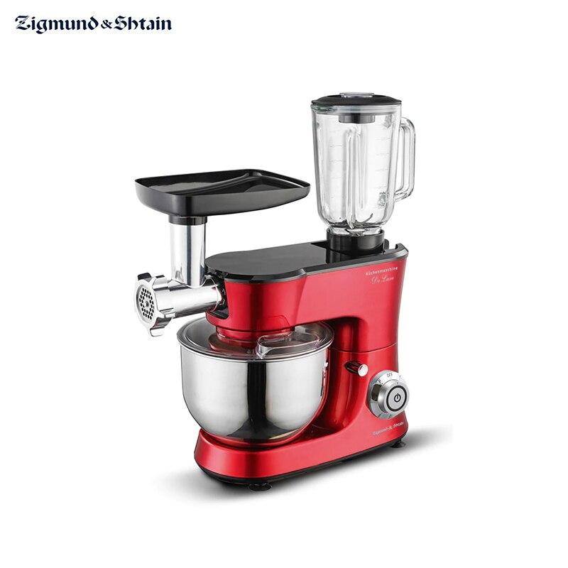 Купить со скидкой Кухонный комбайн Zigmund & Shtain De Luxe ZKM-990