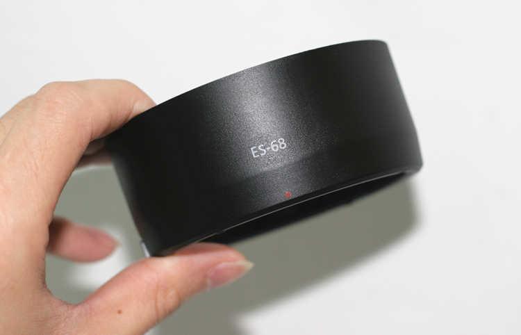Con 1 Canon 50-1.8STM ES-68 Loa che nắng cho ỐNG KÍNH Canon EF 50mm f/1.8 STM Lens hood thương hiệu mới bán