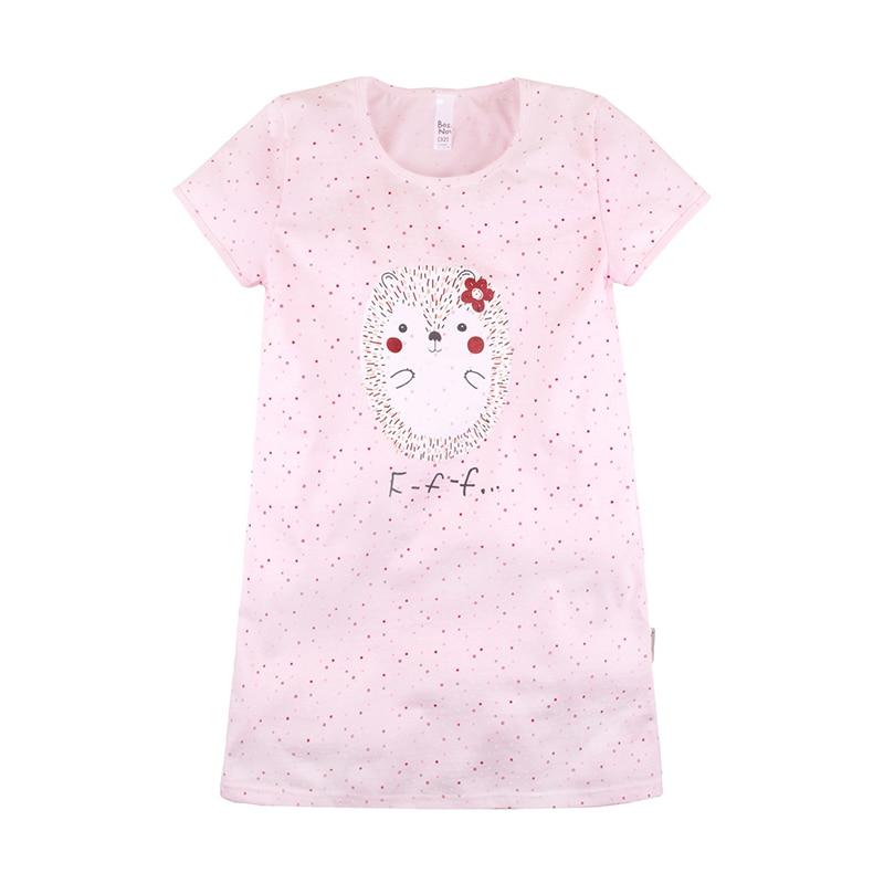 Available from 10.11 BOSSA NOVA  Children Girl's Pink Nightdress 358K-171r smile print nightdress