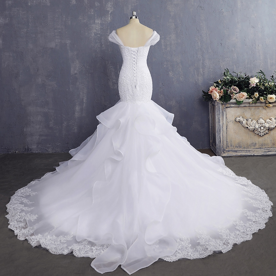 Vestido De Noiva Billig Brautkleid Sexy Meerjungfrau Brautkleider ...