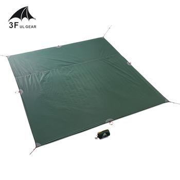 3F UL GEAR namiot podłogowy wzmocniony wielofunkcyjny namiot plandekowy ślad camping piknik na plaży wodoodporna plandeka Bay Play tanie i dobre opinie 1500-2000mm Szybkie automatyczne otwieranie Pojedynczy namiot 210Tdibu