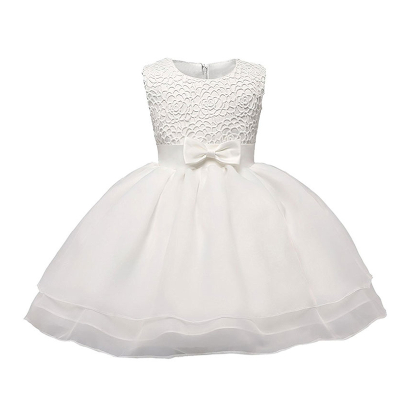 Little Baby Girl Christening Gowns Infant Party Dress For 1 2 Years Birthday Outfits Brand Toddler Bebes Bapatism Clothes