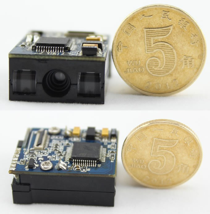 Barcode Reader/Scanner Module with RS232/USB/KB interface