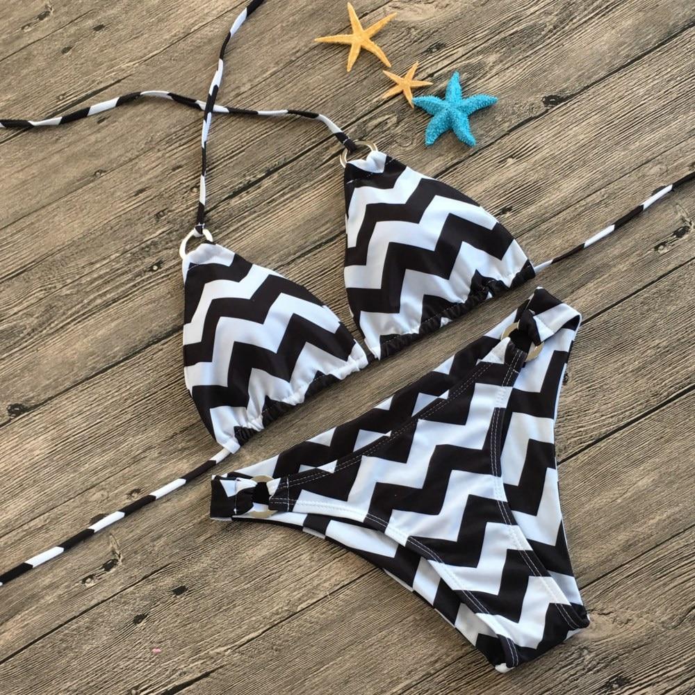 Pure Flame Bikini 2019 Swimwear Women Swimsuit Maillot De Bain Femme Push Up Bathing Suit Women Low Waist Sexy Swimsui in Bikinis Set from Sports Entertainment