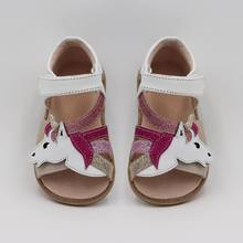 TipsieToes Top Brand Unicorns Soft Leather In Summer New Gir