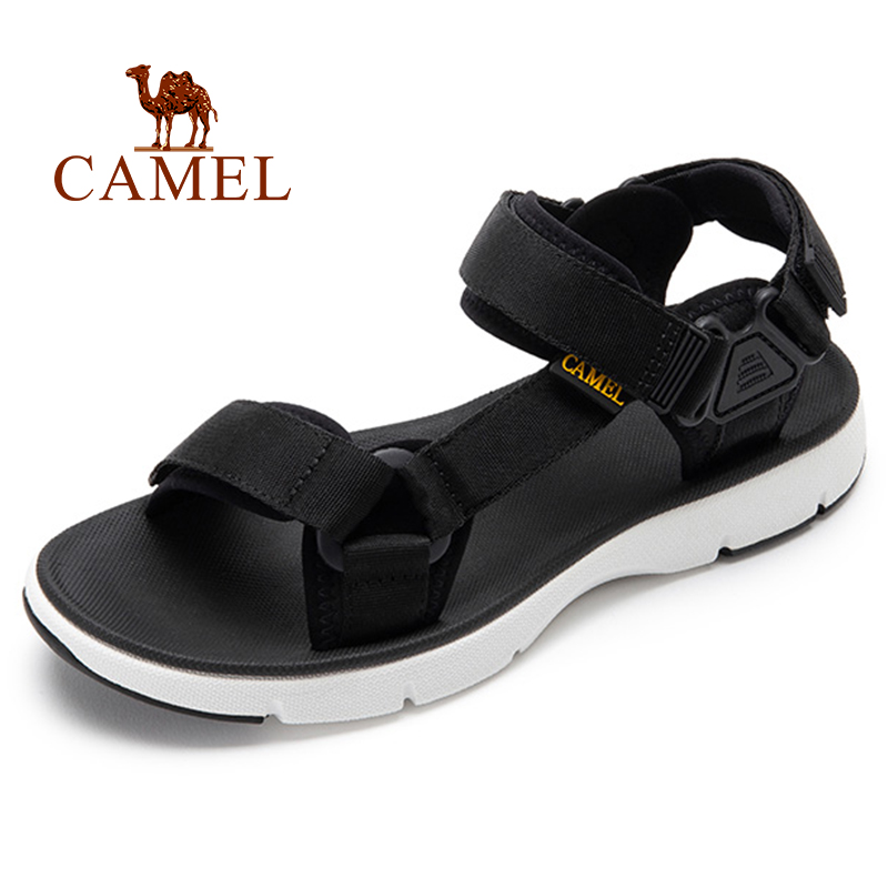 CAMEL Men's Sandals Summer New Casual Outdoor Men's Shoes Beach Trend Lightweight Breathable Non-slip Sandal Men