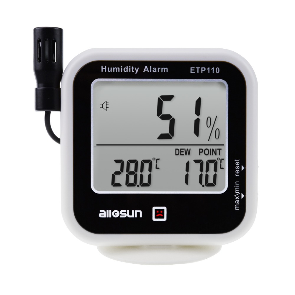Monitor Dew Point Test Meter Digital Hygrometer Thermometer House Humi /& Temp